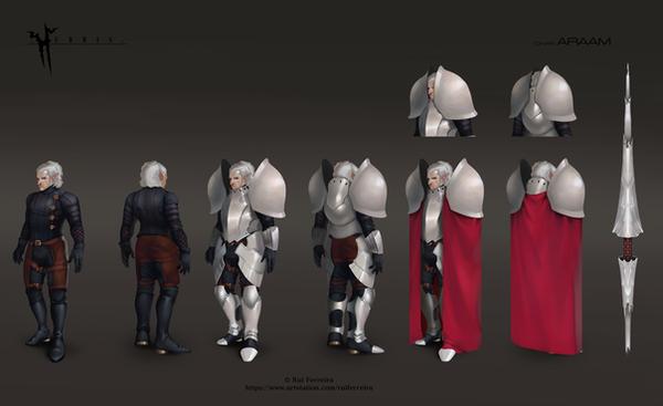 Araam Character Sheer by NightmareGK13