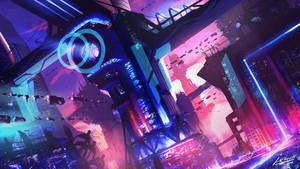 Cyberpunk Cityscape#2