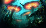 Beneath the Waves - Underwater Forest