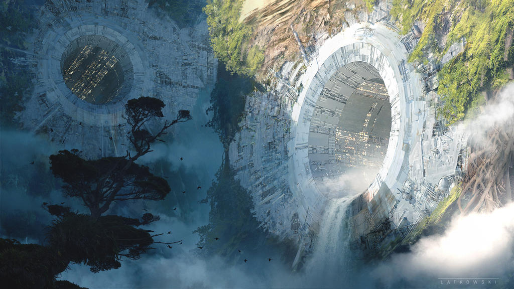 Artificial Planets by ArtLatkowski