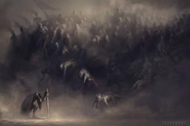 Army of my sins by ArtLatkowski