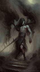 Wraith Blade by ArtLatkowski