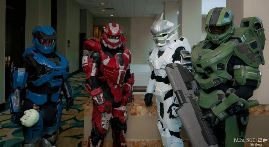 Shadocon 2012 Halo Spartans by Metallica005