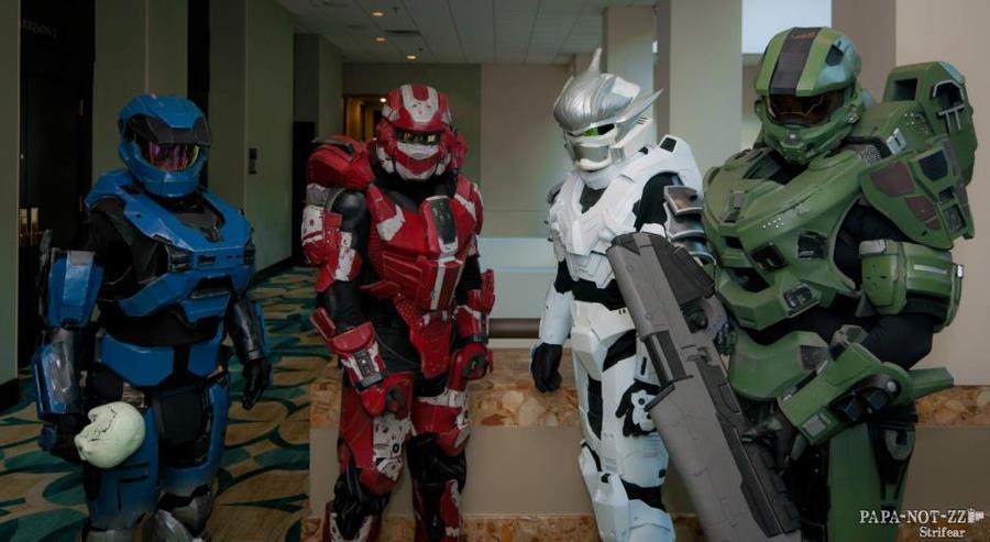 Shadocon 2012 Halo Spartans by Metallica005