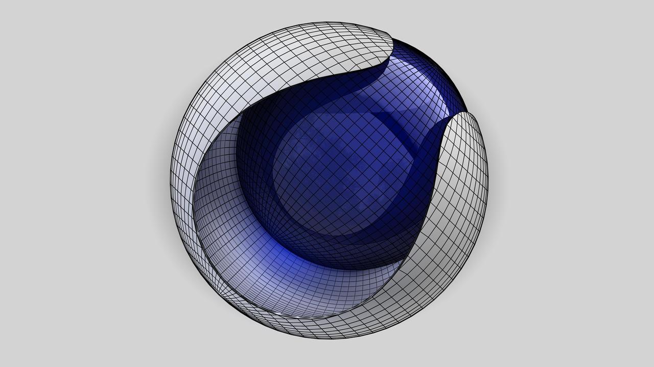C4d-R13-Logo Wireframe Model Front By Raoul-van-Maaren On DeviantArt