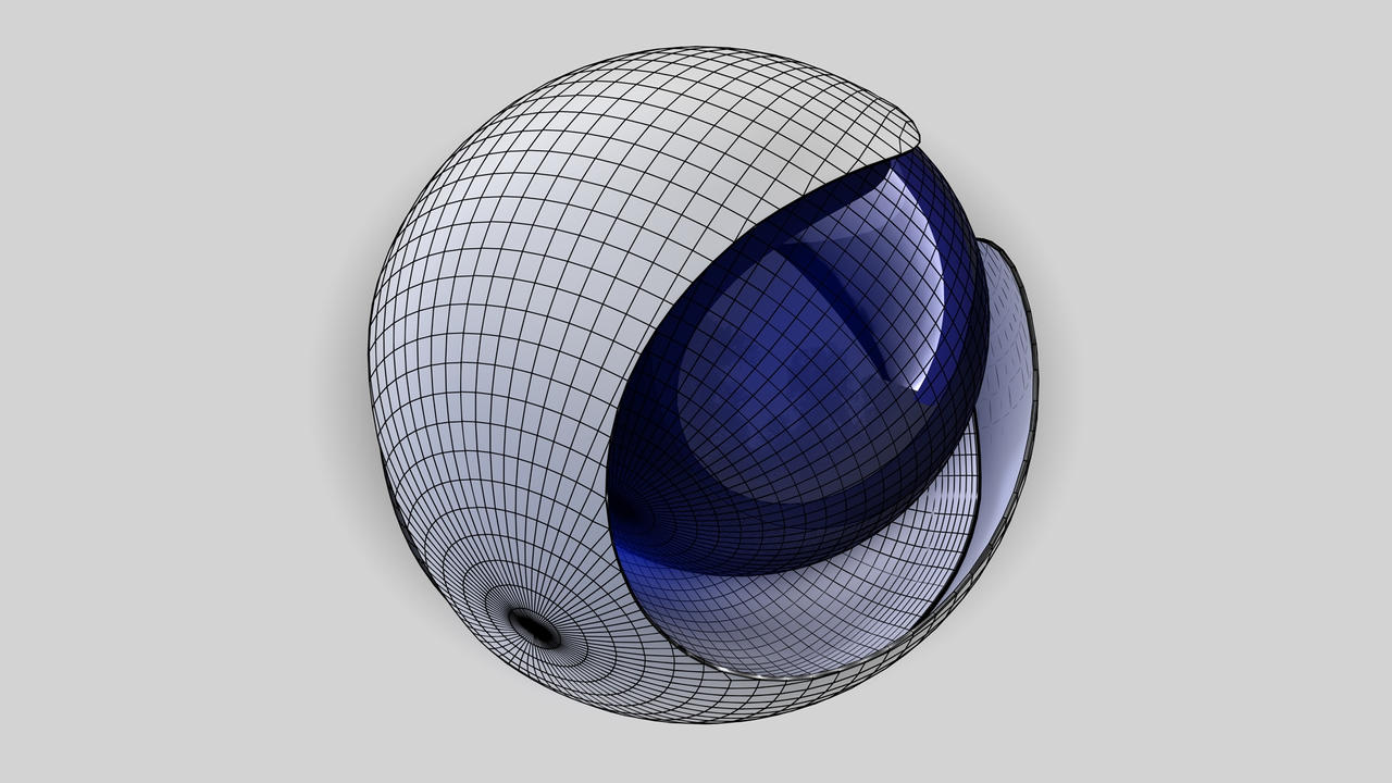 C4d-R13-Logo Wireframe Model Angle By Raoul-van-Maaren On DeviantArt