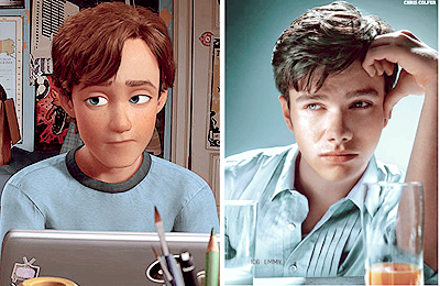 Andy ToyStory3 - Chris Colfer by silencegolden