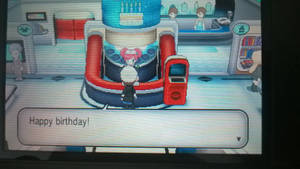 B-day party at Kiloude City's Pokemon Center