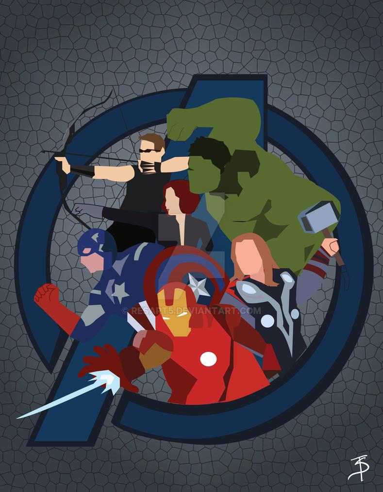 Avengers by resart5