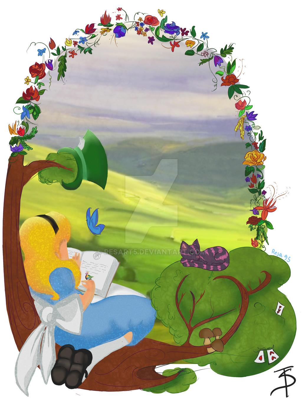 Alice'sDream by resart5