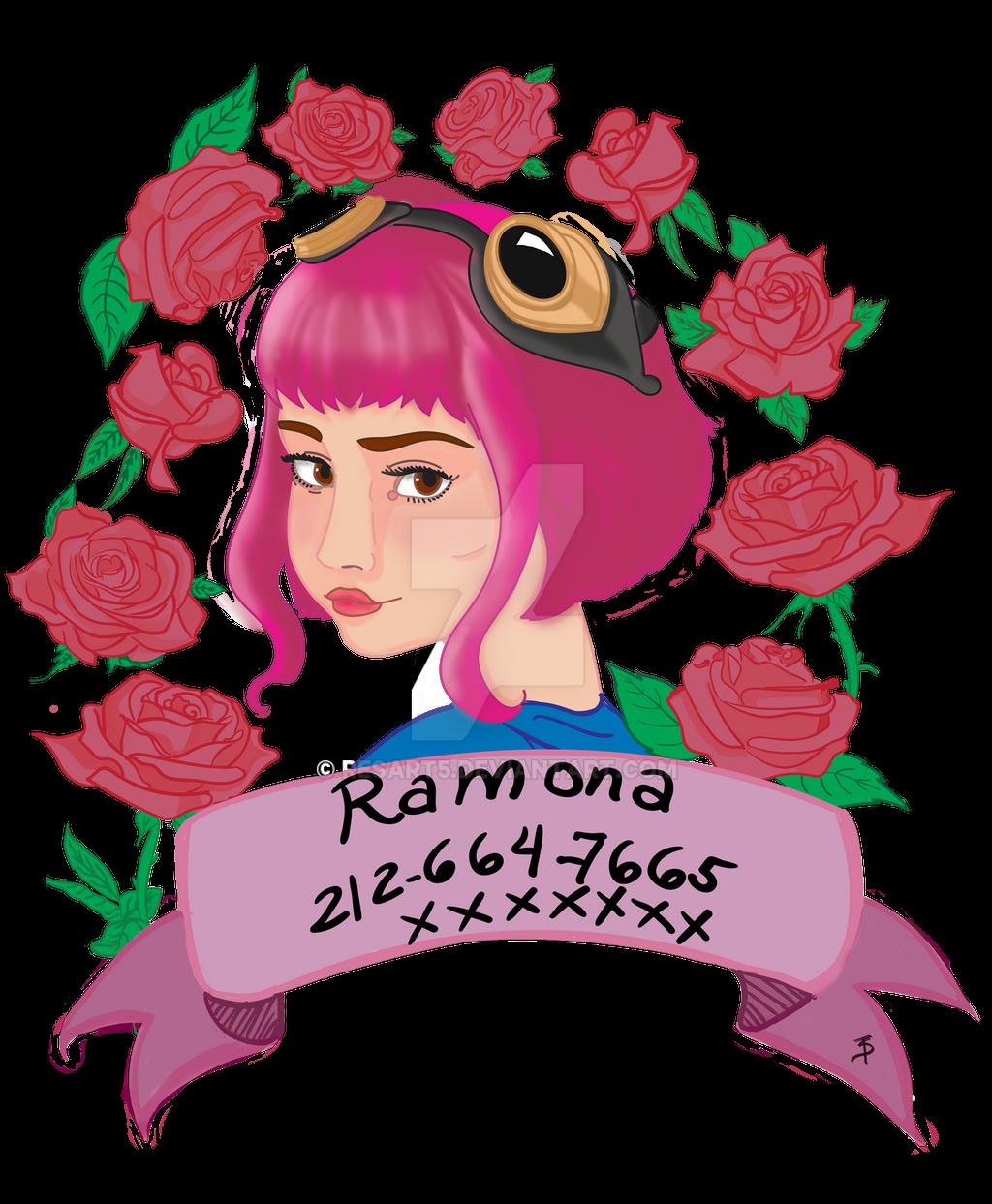 Ramona Flowers by resart5