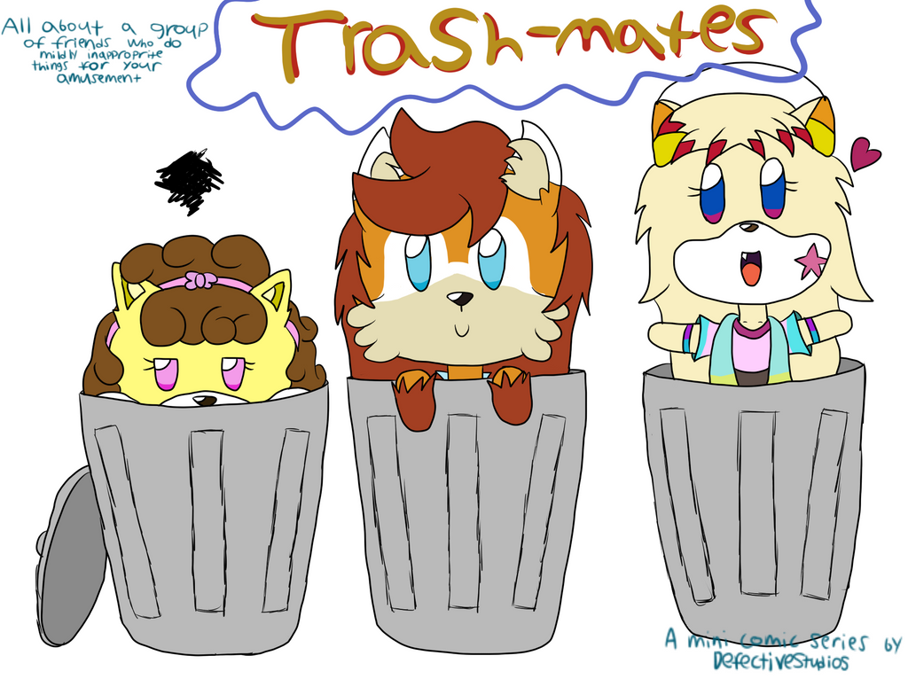Trashmates Promo by DefectiveStudios