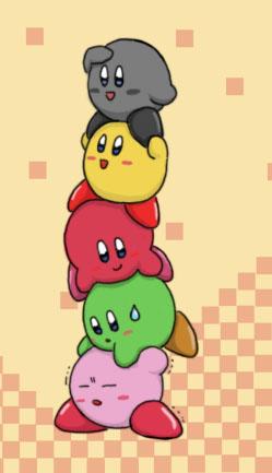 Kirbys by Sirometa