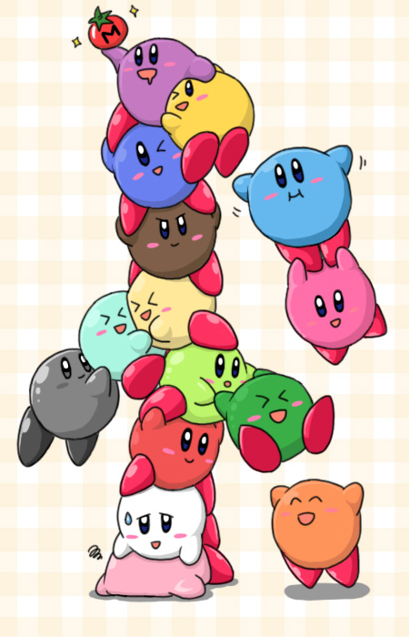 Kirby Tower by Sirometa