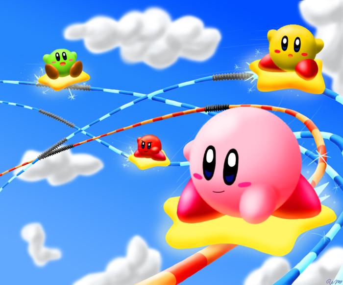 Kirby's Air Grind by Sirometa