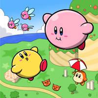 Kirby and Keeby by Sirometa