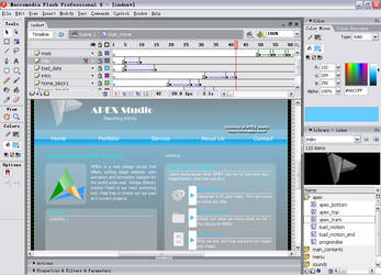 screenshot - APEX website by apexflash