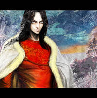 Feanor, flame of the North by Laenare