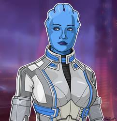 Liara - Mass Effect by DarthPlanet97