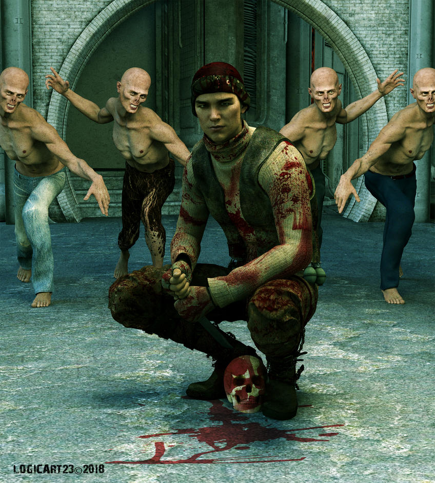 Zombie Killer by Logic12304