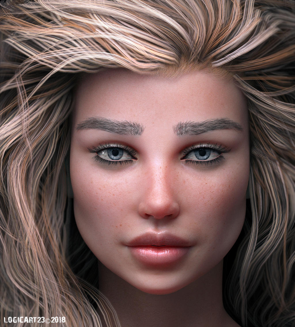 Charlotte 8 Realism Portrait by Logic12304