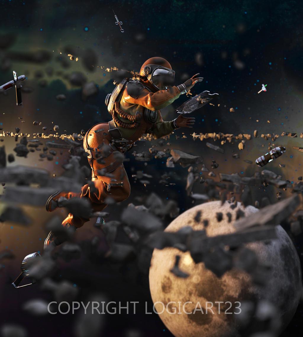 Astronaut by Logic12304