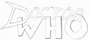 Doctor Who Fan Logo (Rough Sketch)