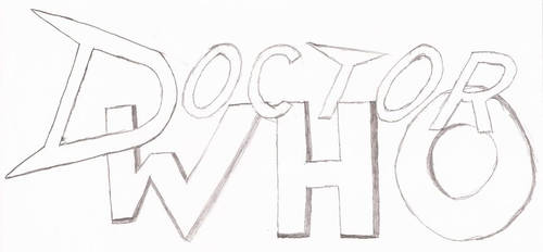 Doctor Who Fan Logo (Rough Sketch)
