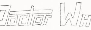 Doctor Who Fan Logo V2 -- Rough Draft