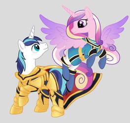 Pony Cosplay #1 - Mahou Sentai Magiranger by EkardShadowreaver