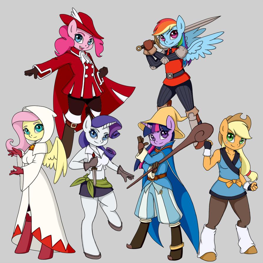 Pony Cosplay #2 - Final Fantasy by EkardShadowreaver