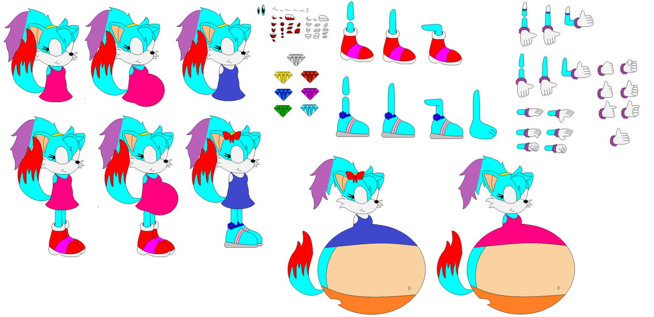 Sarah The Fox Builder (New) by Sarah-The-Fox2