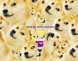 (AT) Female Doggo in Doggos by SarahFoxie2