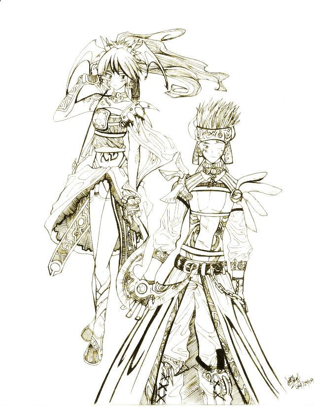 Artemis and Apollo by laika13 on DeviantArt