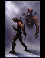 Daredevil, redux by ARTofANT