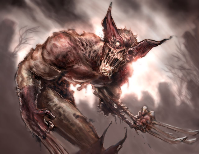 Wolverine Zombie by ARTofANT