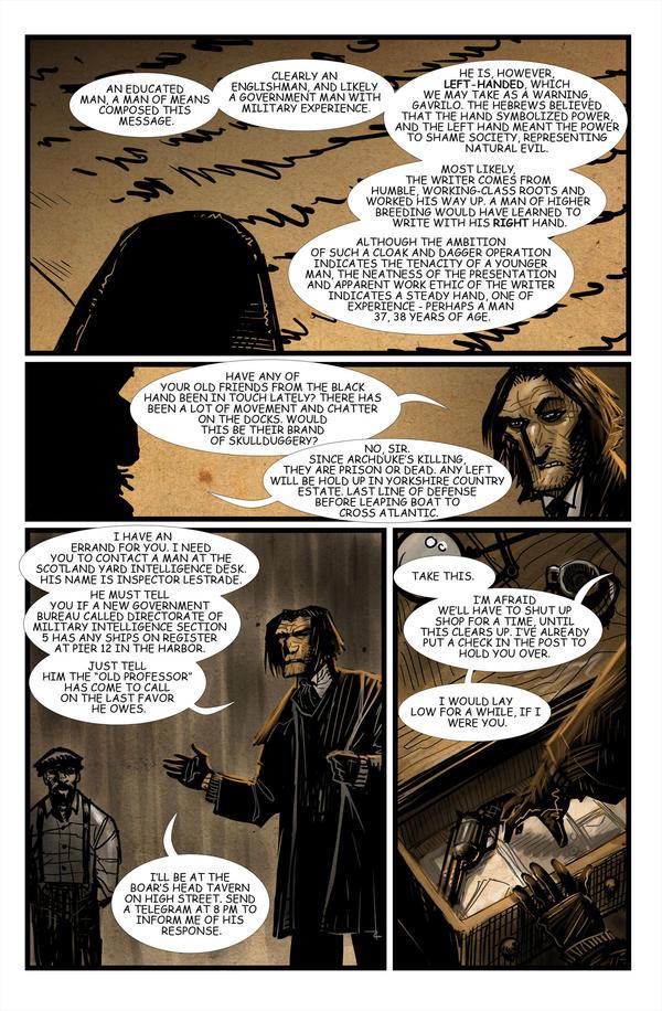 Moriarty: The Dark Chamber p8 by ARTofANT