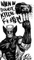 Wolverine- When in Doubt by ARTofANT