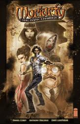 Moriarty Wondercon poster by ARTofANT