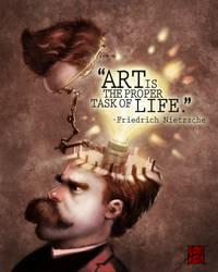 Nietzsche by ARTofANT