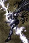 Batman Cyber-punk Color