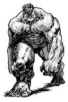 Hulk by ARTofANT