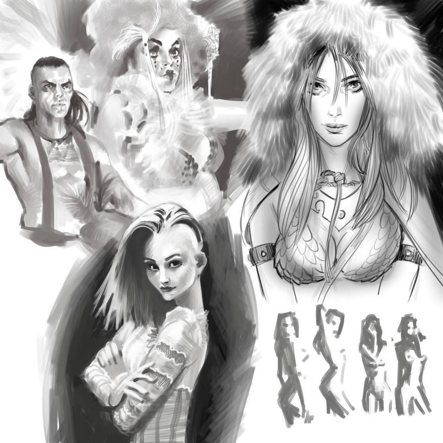 Sketchbbook 012 by ARTofANT