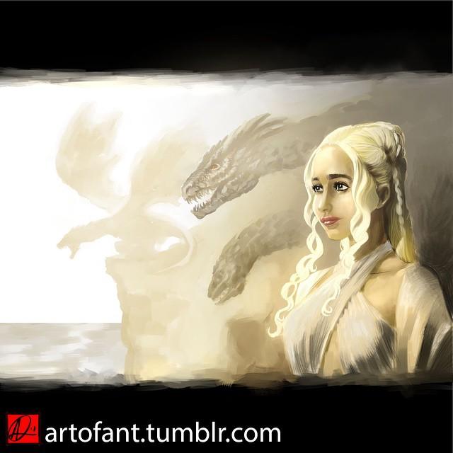 Daenerys Targaryen by ARTofANT
