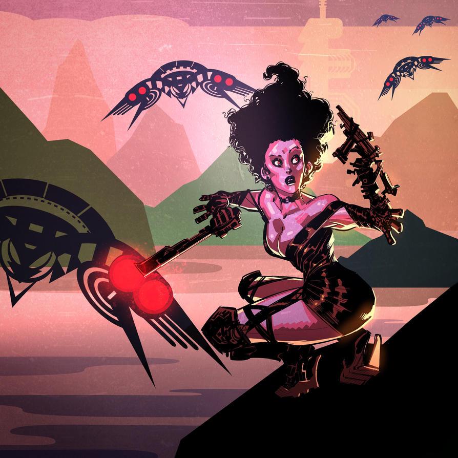 Vega on the Cliff by ARTofANT