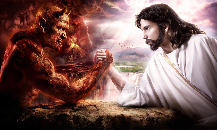 Devil vs Jesus