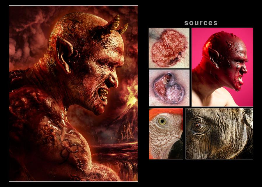 Devil_Close Up by ongchewpeng