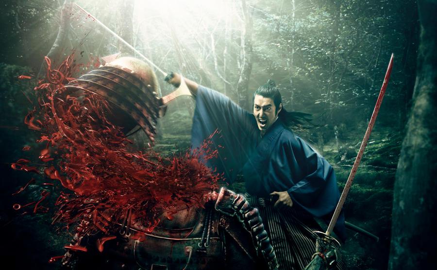Samurai by ongchewpeng