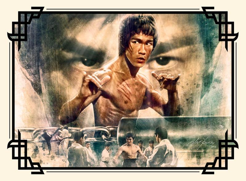 Bruce Lee by ongchewpeng