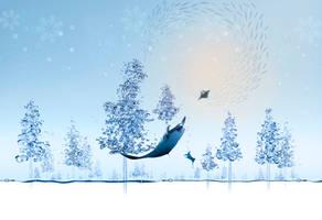 Merry Christmas - Underwater world